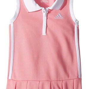 74b0c5cfa7c adidas Dresses | Kids Pinkwhite Twirl Polo Dress Sz 5 Girls | Poshmark